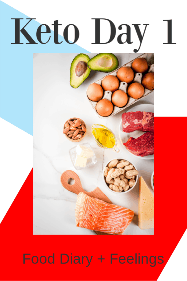 Keto Food Diary Day One